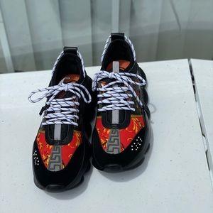Versace men Chain Reaction Sneakers
